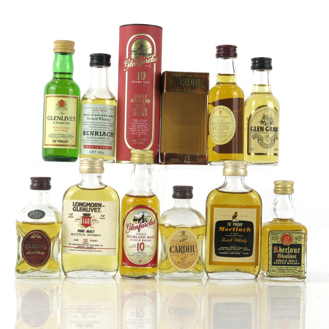 Speyside Miniature Selection / 10 x 5cl