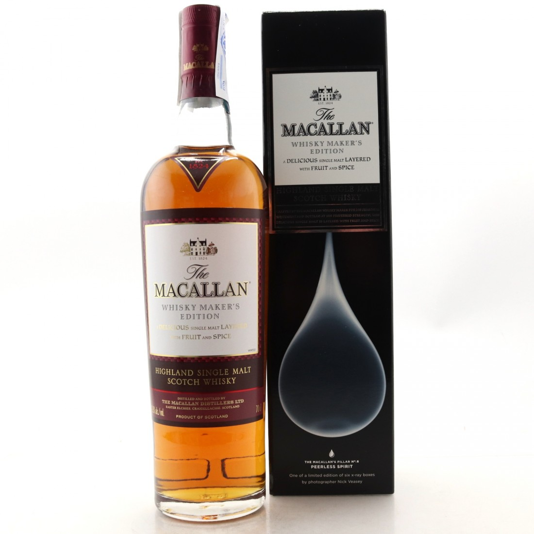 Macallan Whisky Maker's Edition / Nick Veasey X Ray