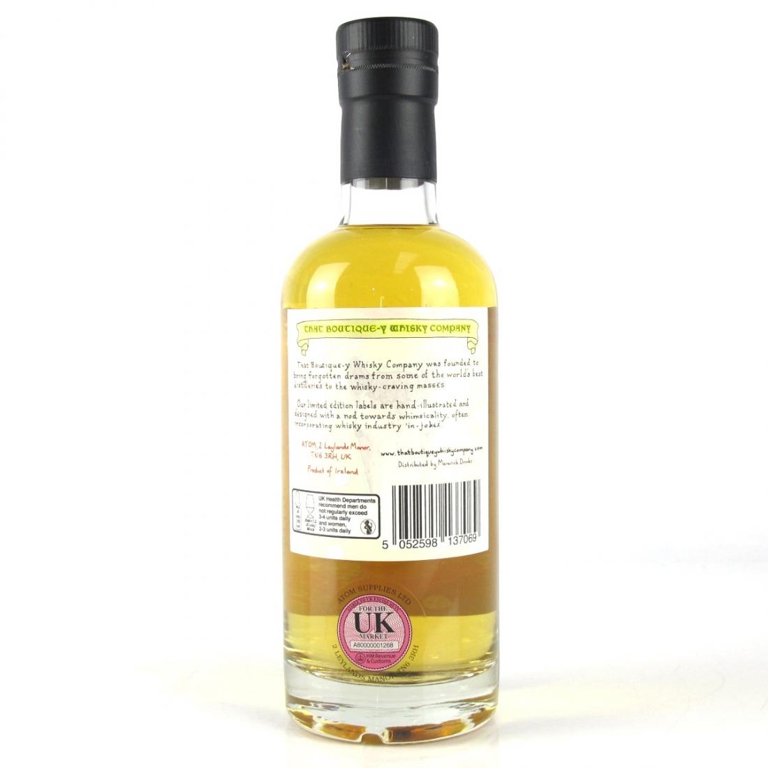 Irish Single Malt That Boutique-y Whisky Company 13 Year Old Batch #2