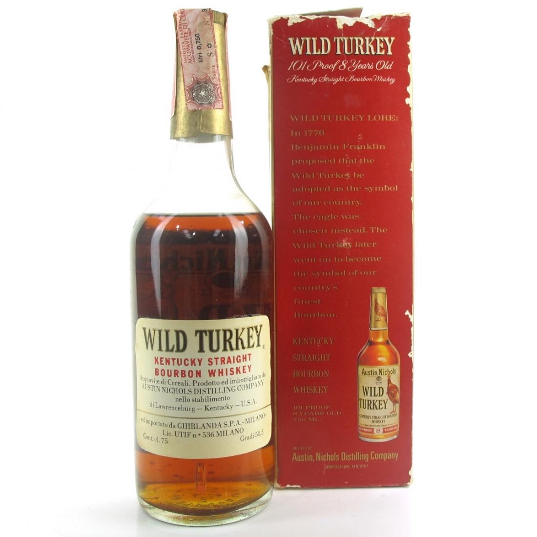 Wild Turkey 8 Year Old 101 Proof 1978
