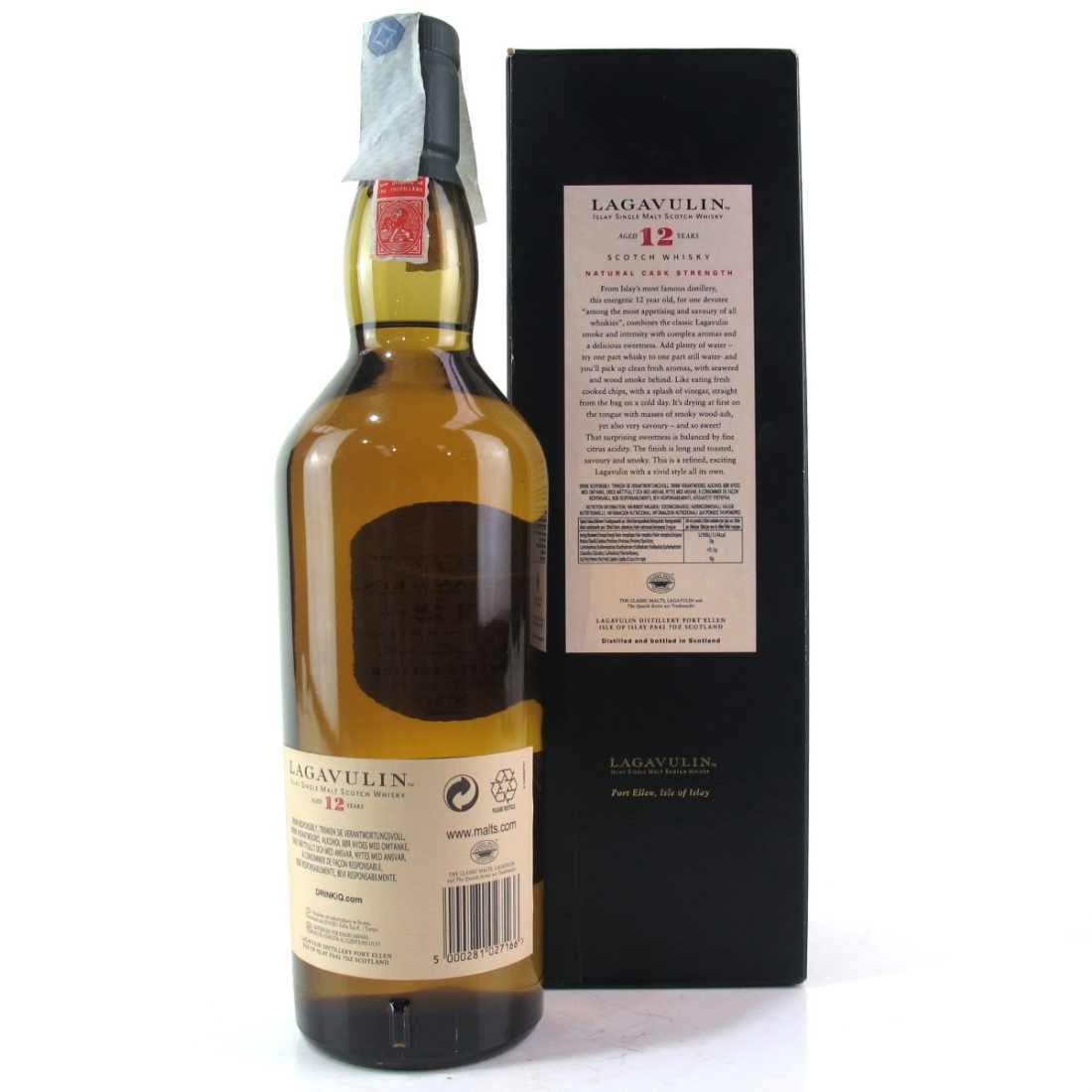 Lagavulin 12 Year Old 2010 Release
