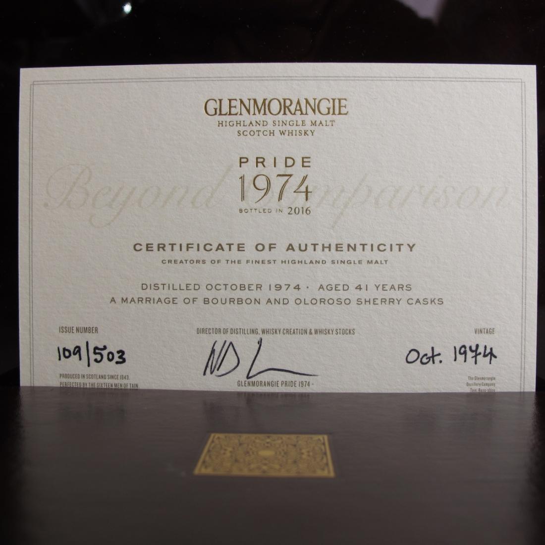 Glenmorangie 1974 Pride 41 Year Old