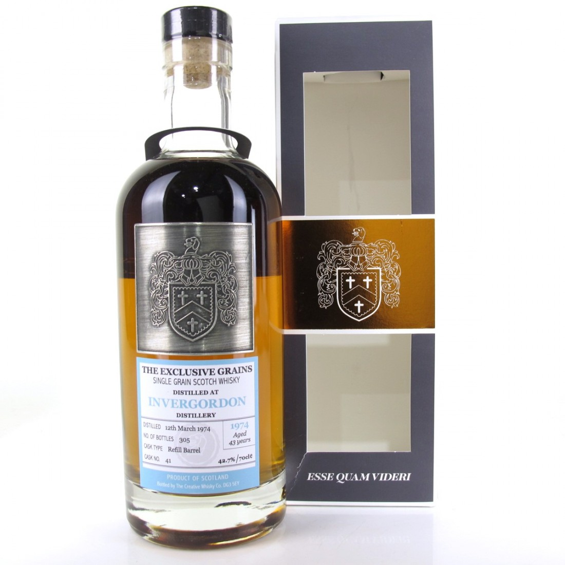 Invergordon 1974 Creative Whisky Co 43 Year Old