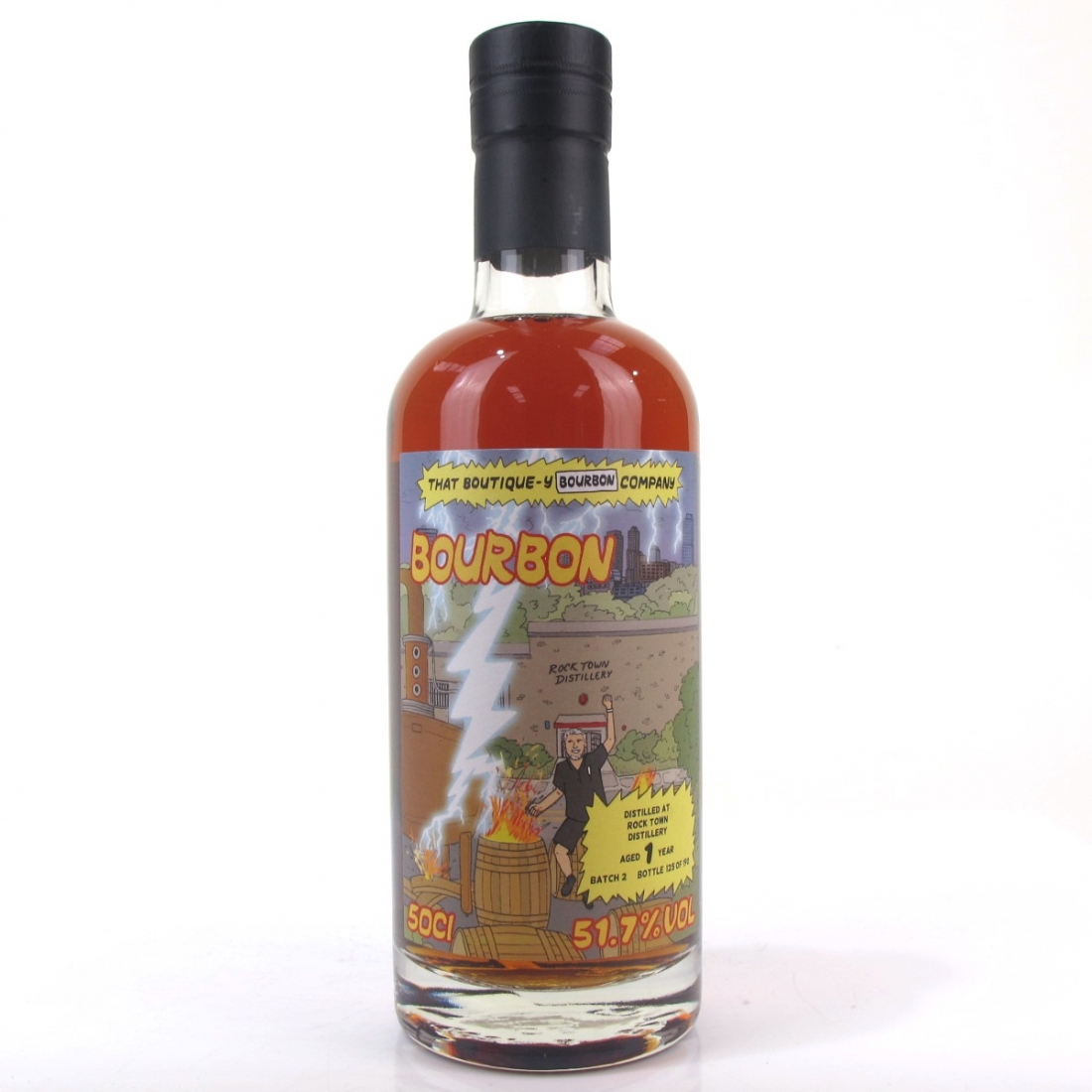 Rock Town That Boutique-y Whisky Company 1 Year Old Batch #2
