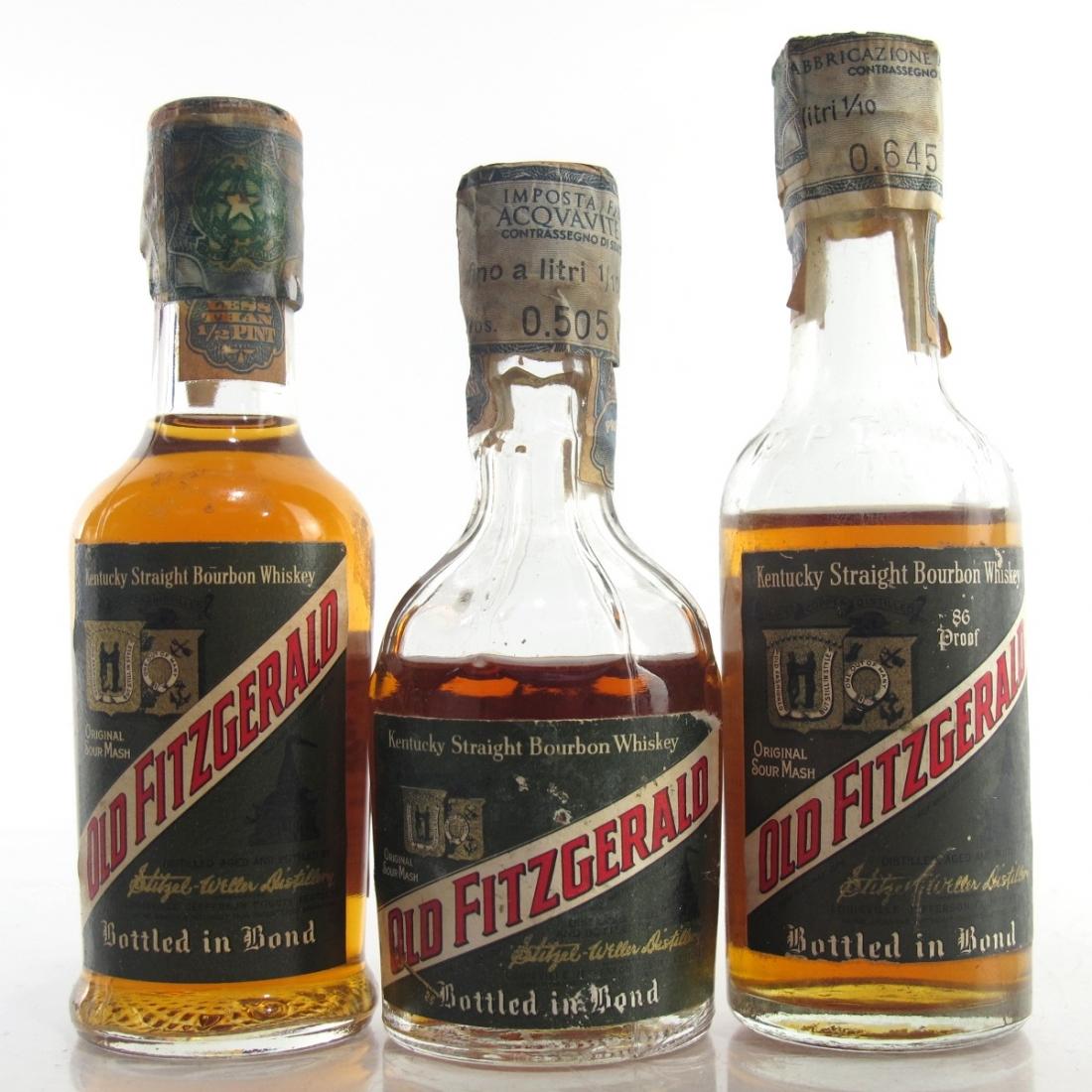 Old Fitzgerald Miniature Selection 3 x 1/10 Pint / Stitzel-Weller