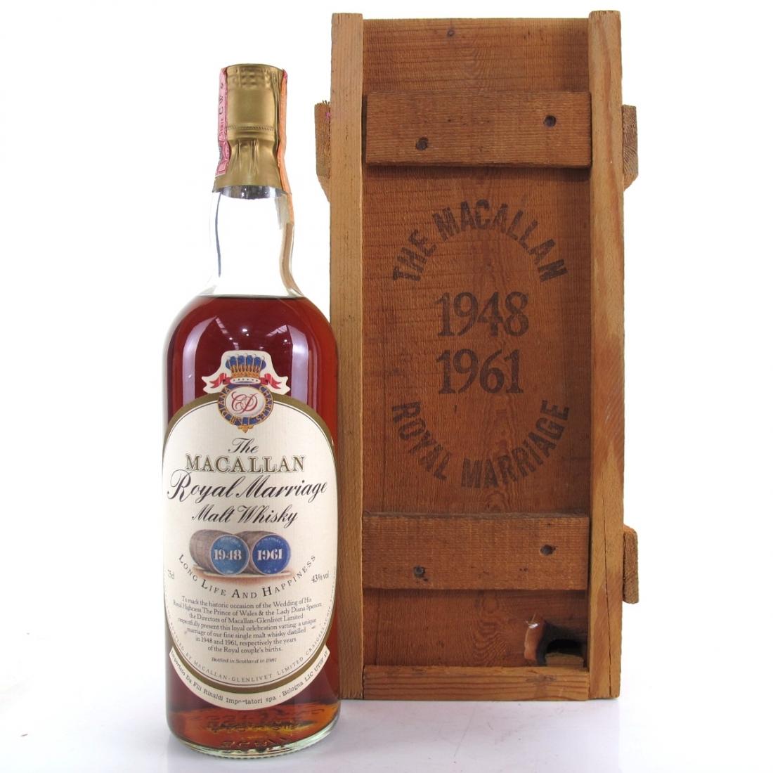 Macallan Royal Marriage 1981 / Rinaldi Import