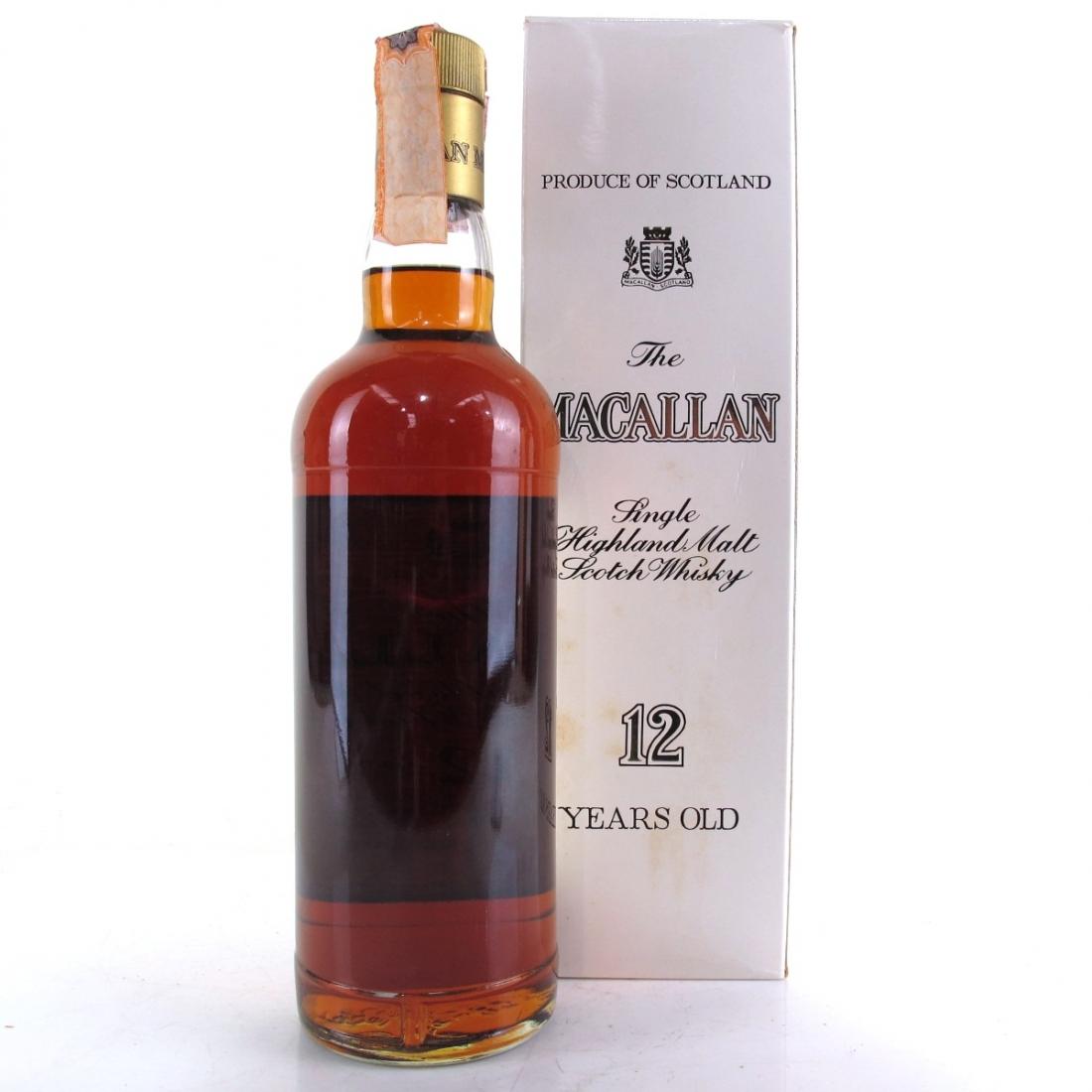 Macallan 12 Year Old 1980s / Rinaldi Import