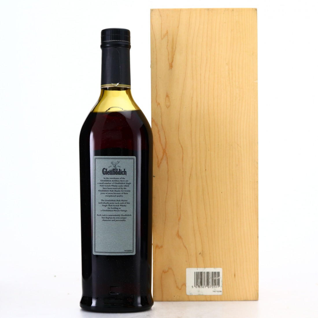 Glenfiddich 1958 Private Vintage #8642 / World of Whiskies