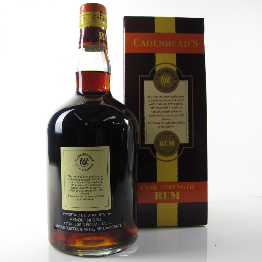 Uitvlugt 1974 Cadenheads 30 Year Old Demerara Rum