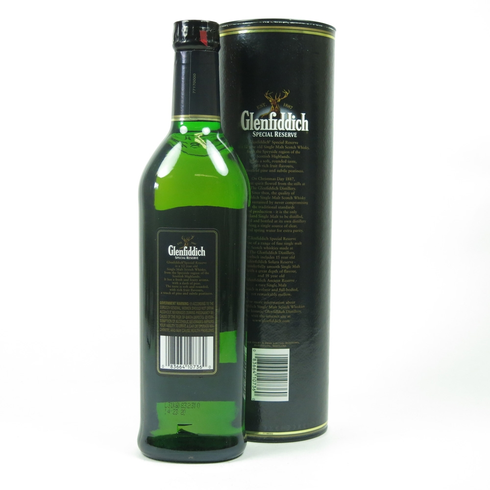 Glenfiddich Special Reserve Pure Malt 12 Year Old