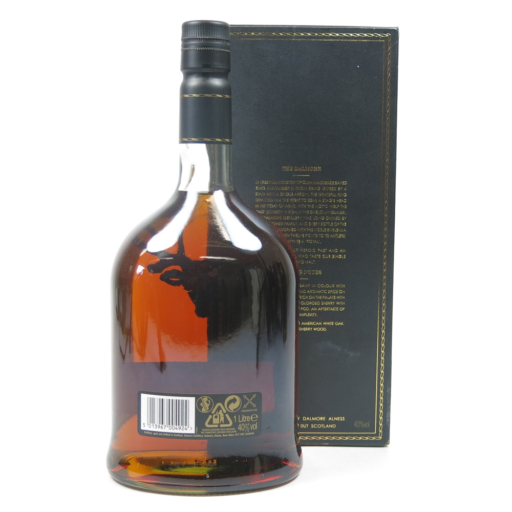 Dalmore 12 Year Old 1 Litre Back