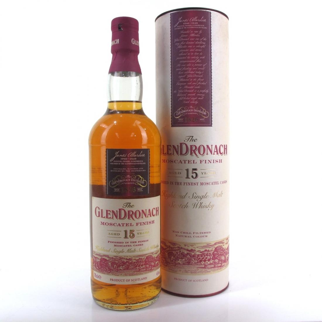 Glendronach 15 Year Old Moscatel Finish