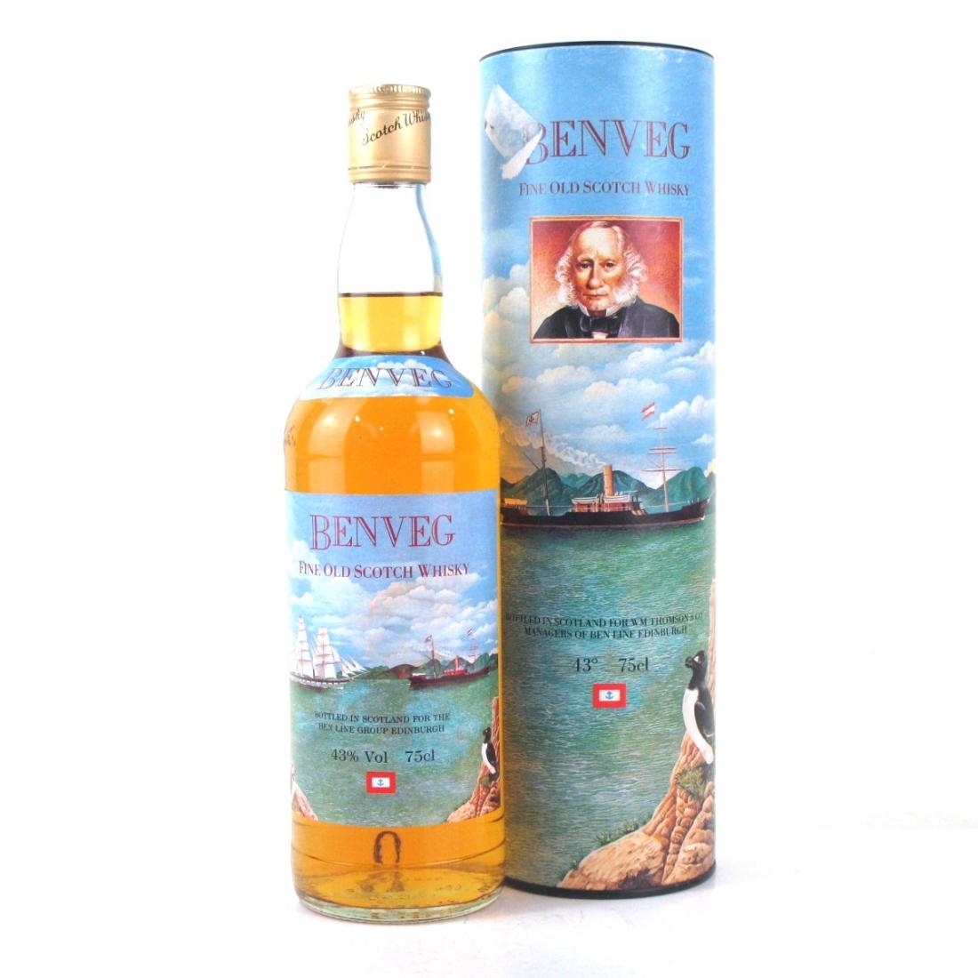 Benveg Fine Old Scotch 1980s