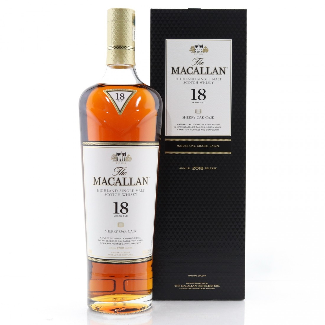 Macallan 18 Year Old 2018 Release 75cl / US Import