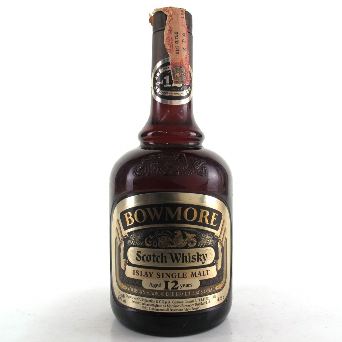 Bowmore 12 Year Old 1980s