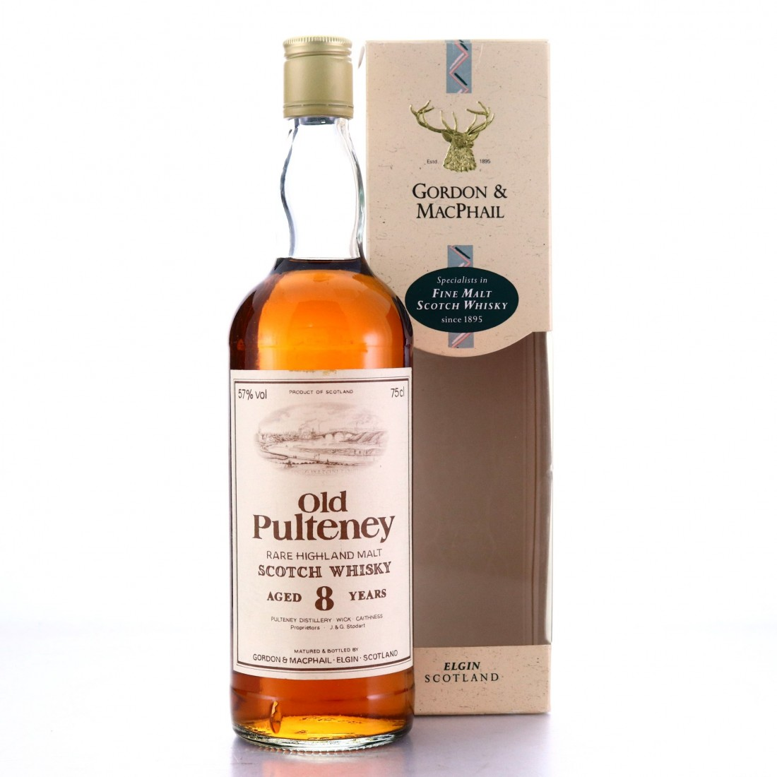 Old Pulteney 8 Year Old Gordon and MacPhail 1980s