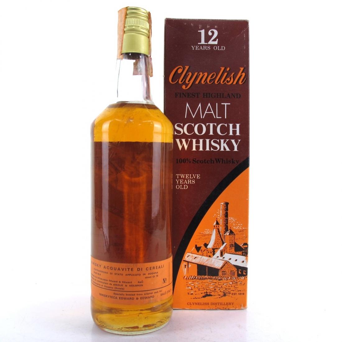Clynelish 12 Year Old Ainslie and Heilbron Full Proof / Edward & Edward Import