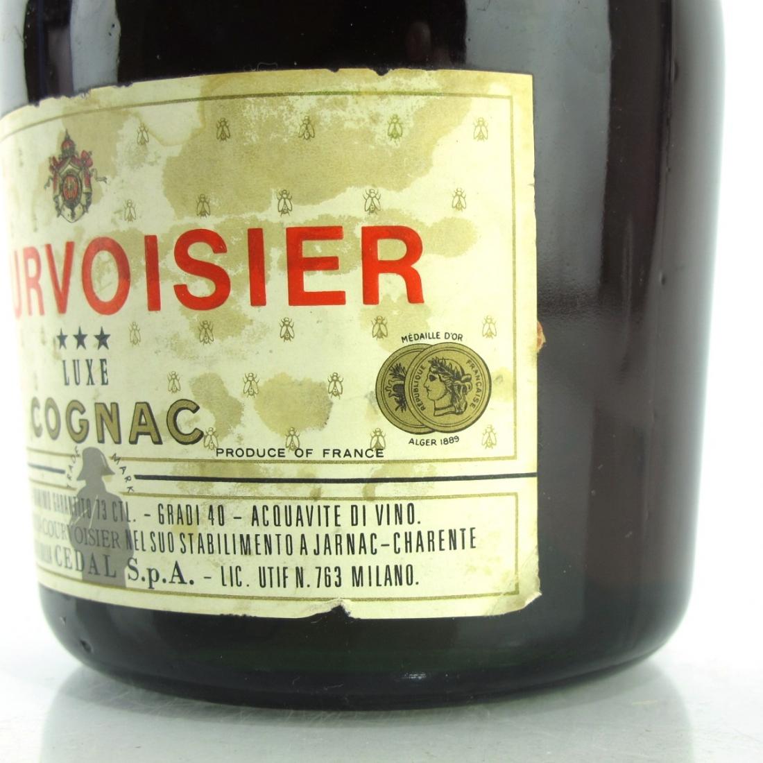 Courvoisier 3-Star Luxe Cognac 1960s