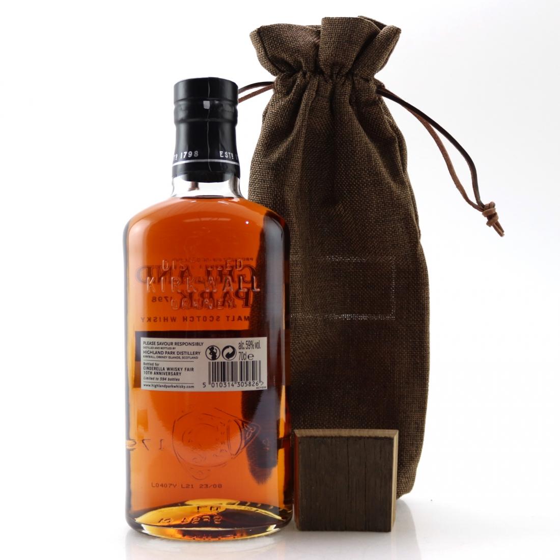 Highland Park 2003 Single Cask 14 Year Old #3824 / Cinderella Whisky Fair 10th Anniversary