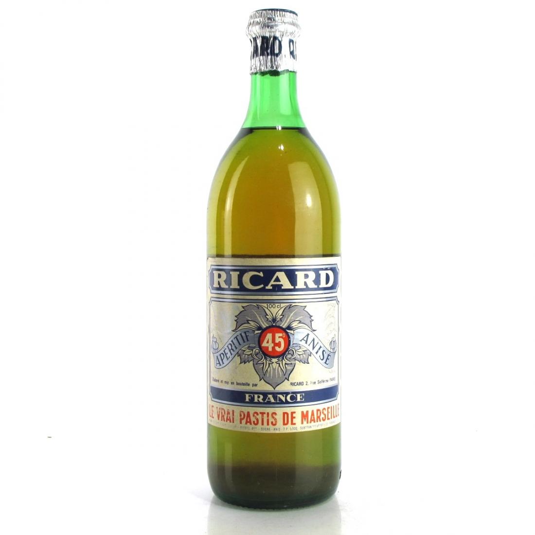 Ricard Pastis 1 Litre