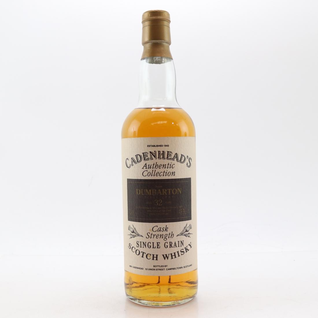 Dumbarton 1962 Cadenhead's 32 Year Old