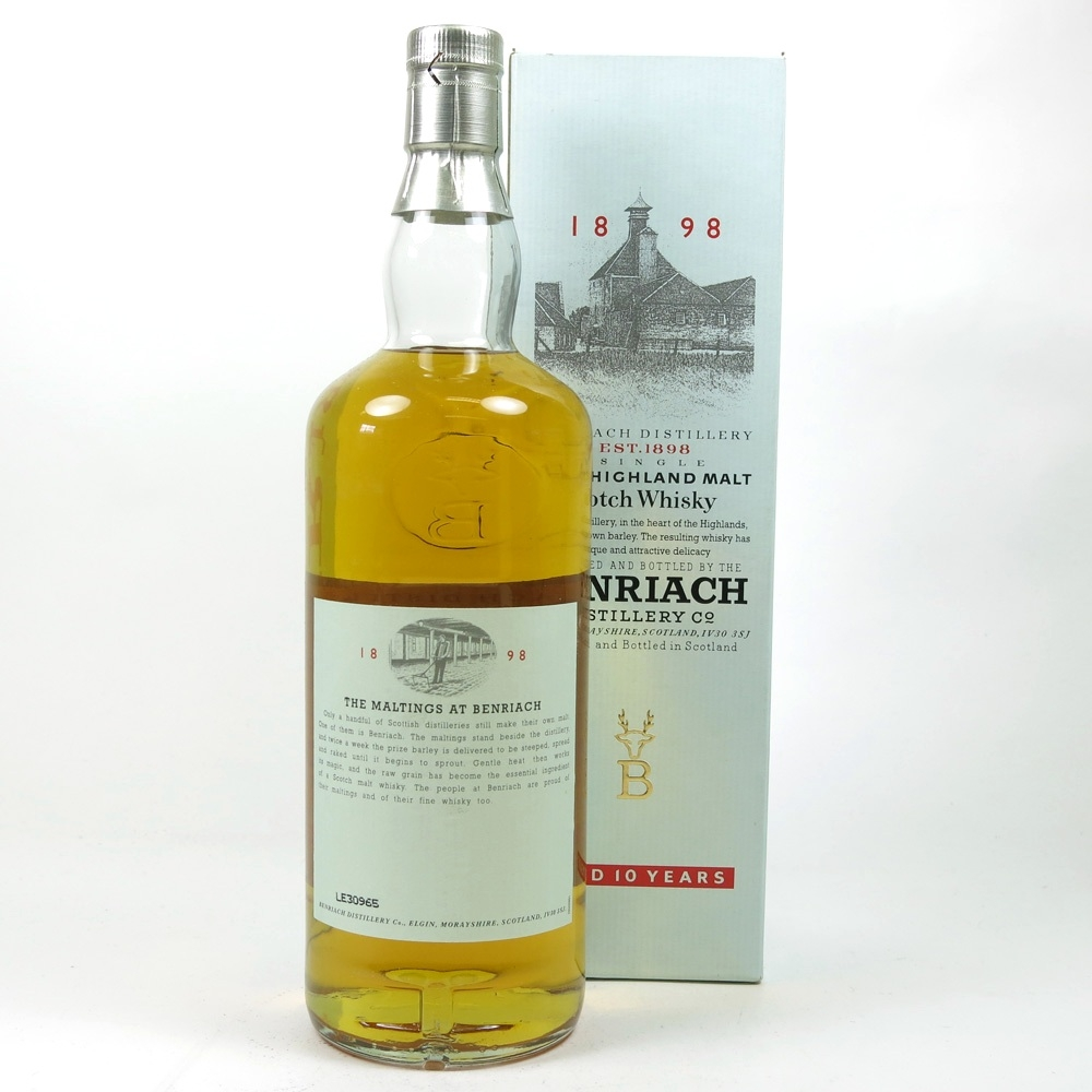 Benriach 10 Year Old 1990s 1 Litre