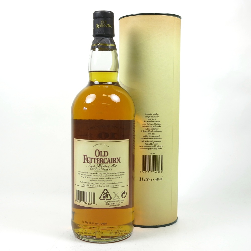 Old Fettercairn 10 Year Old 1 Litre