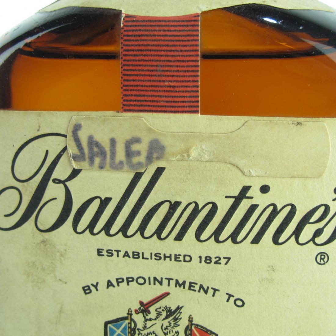 Ballantine's Finest Scotch Whisky 1970s