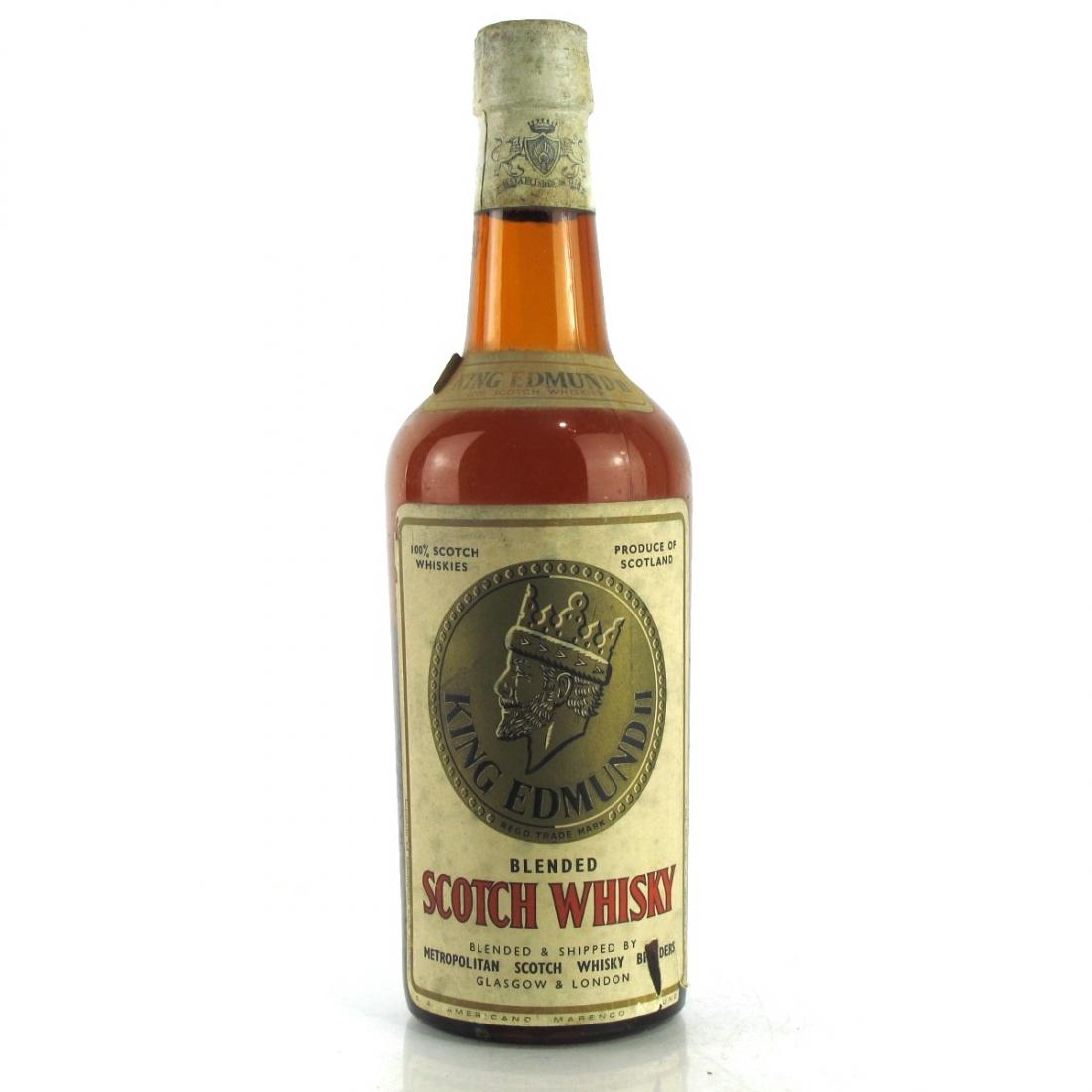 King Edmund II Scotch Whisky 1960s