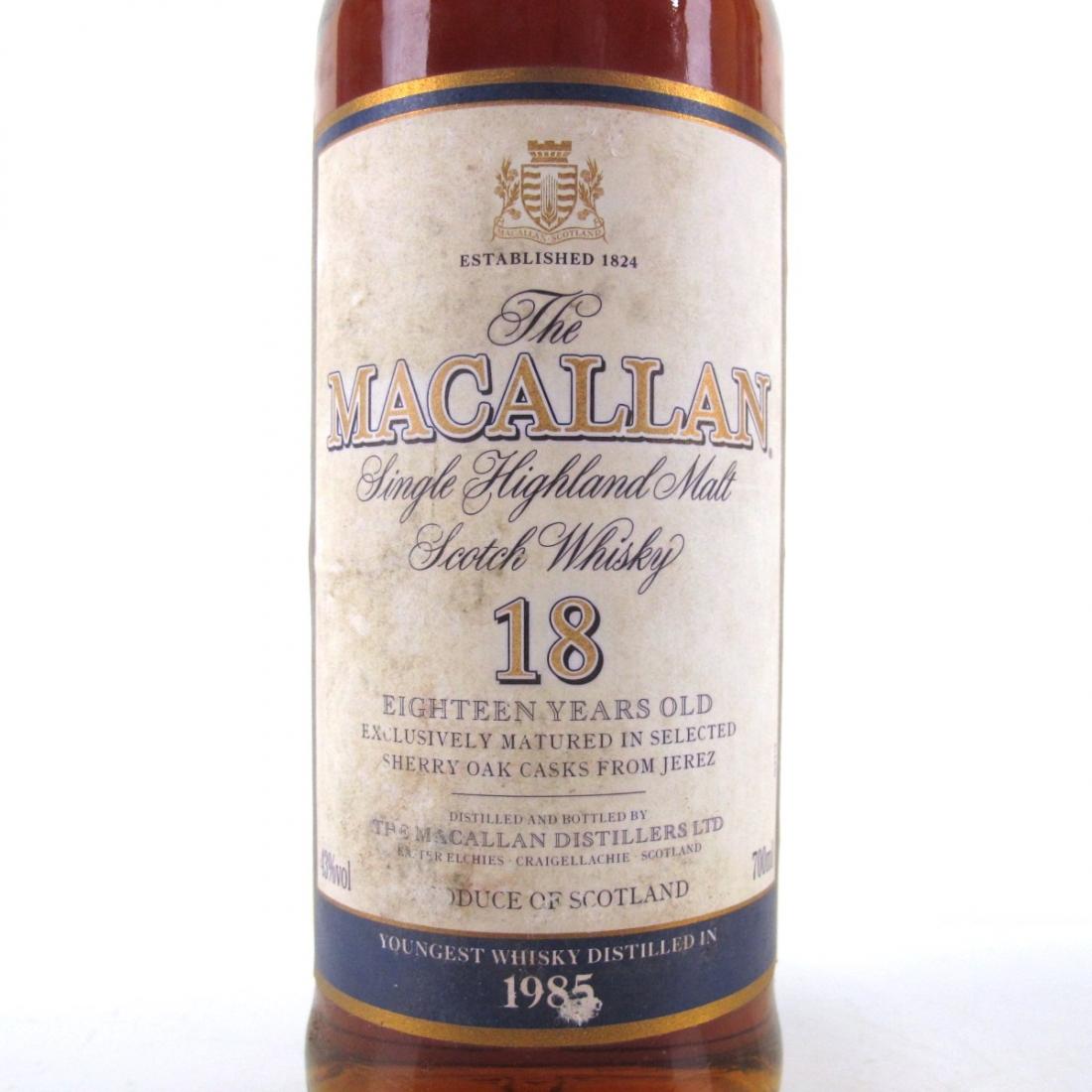 Macallan 18 Year Old 1985