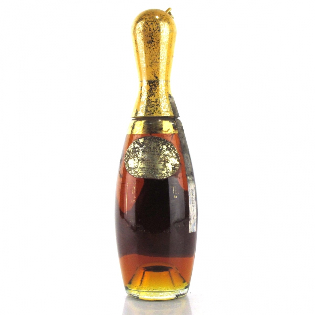 Jim Beam / Beam's Pin Bottle 6 Year Old Bottled in Bond Bourbon 1970s