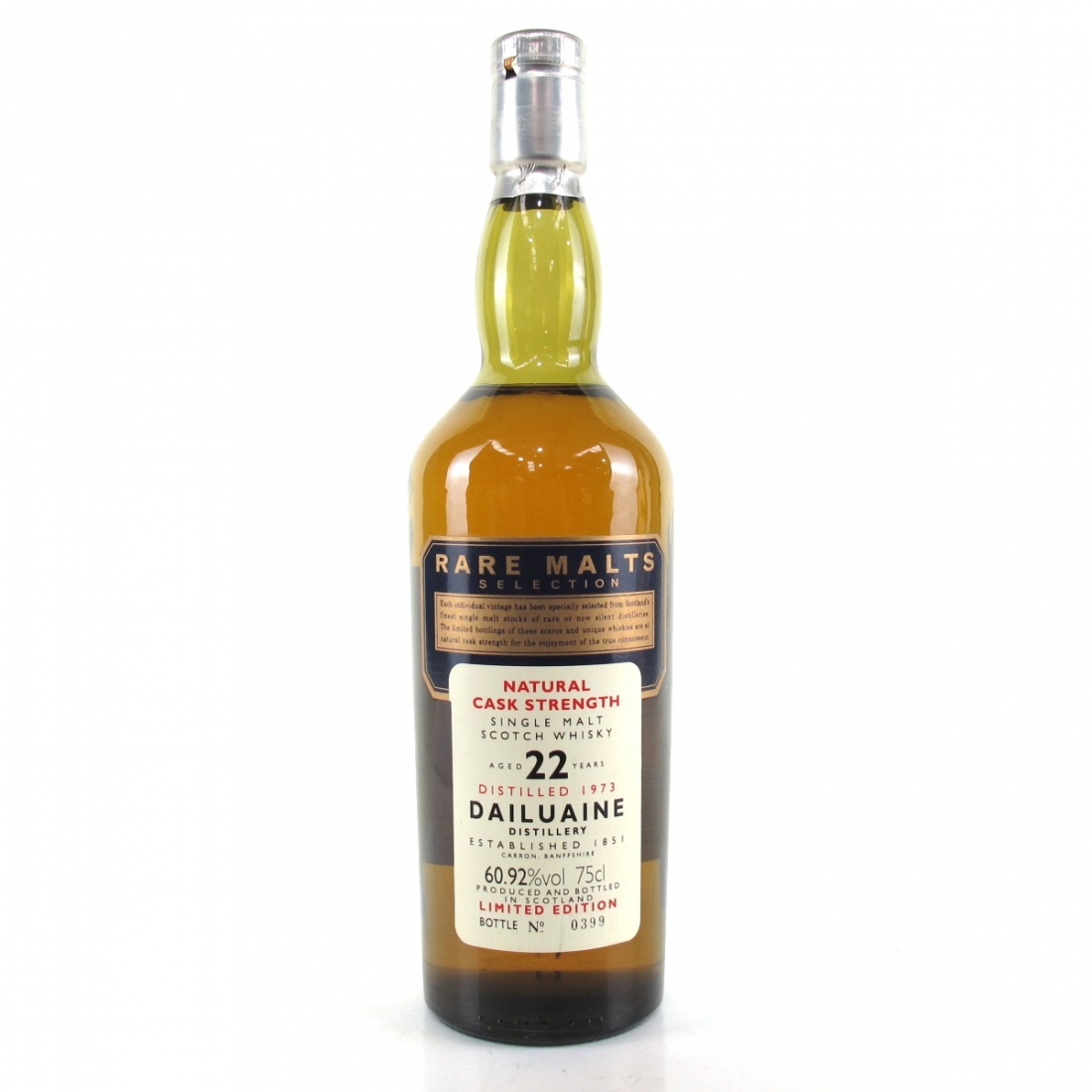 Dailuaine 1973 Rare Malt 22 Year Old 75cl / US Import 60.92%