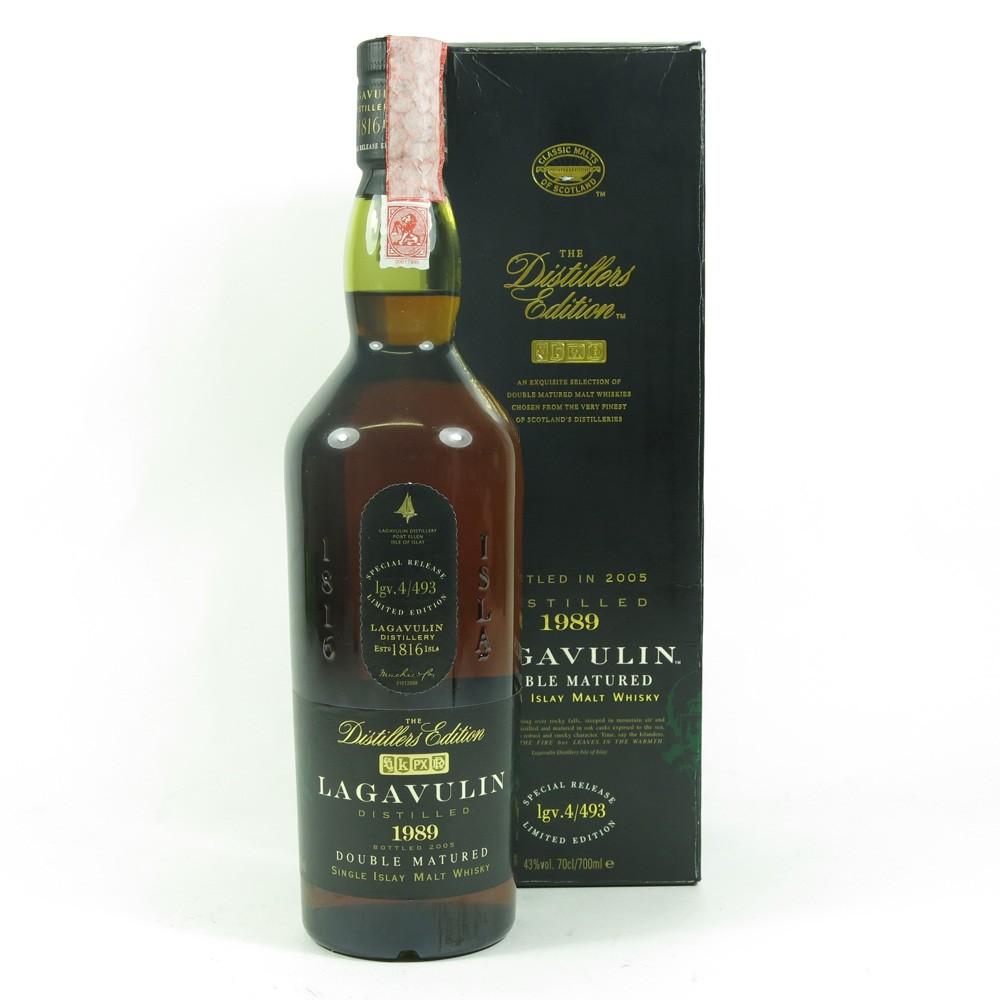Lagavulin 1989 Distillers Edition front