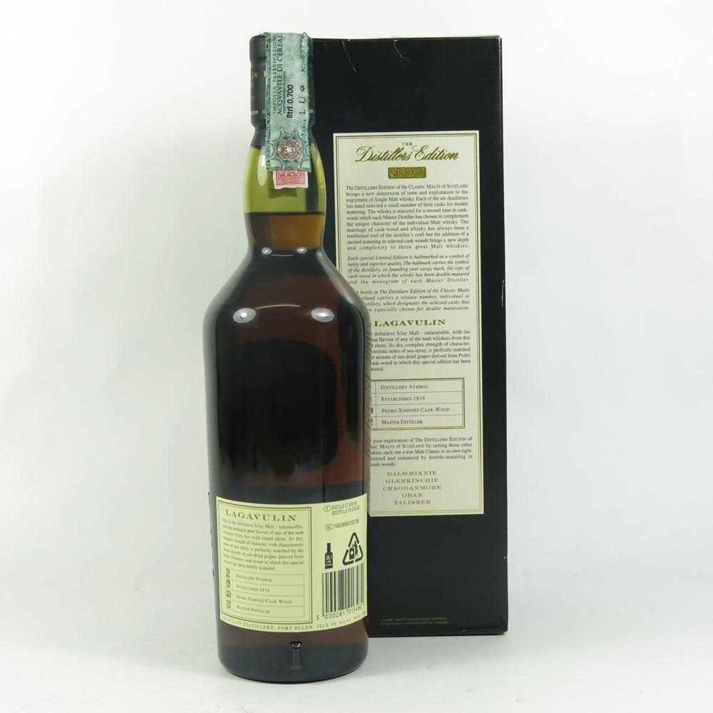 Lagavulin 1989 Distillers Edition back