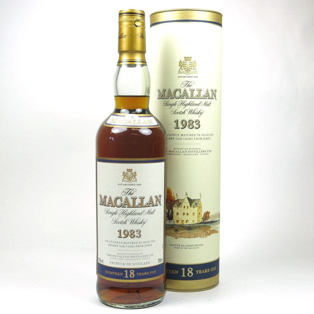 Macallan 1983 18 Year Old Front
