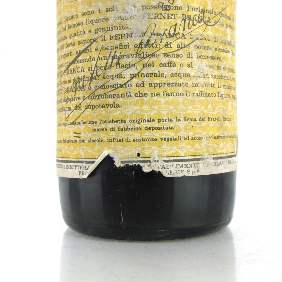 Fernet-Branca Digestif 1 Litre 1960s