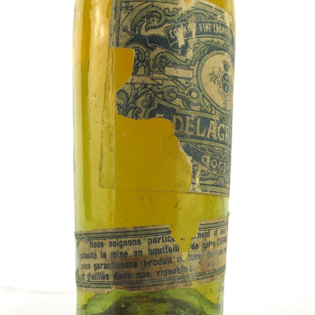 Delagroix 3 Star Fine Champagne Cognac circa 1930s