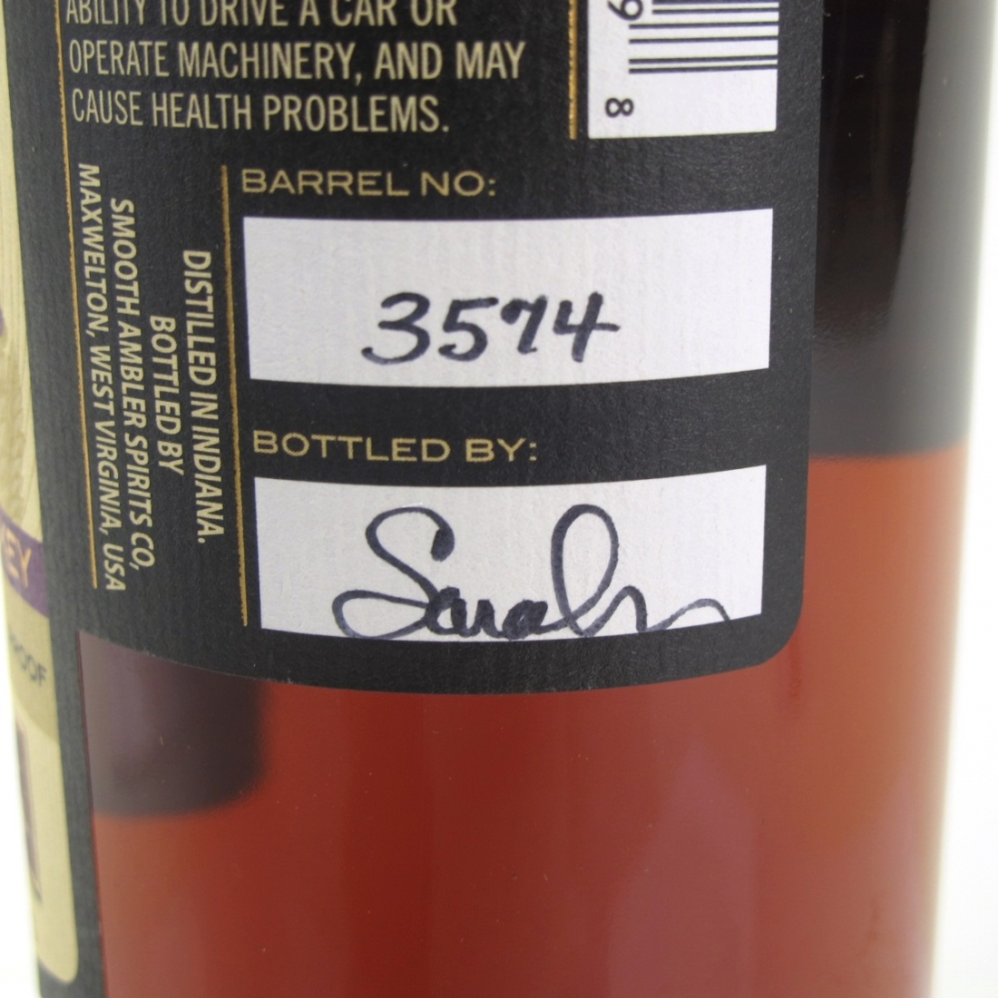 Smooth Ambler Old Scout Rye 10 Year Old Single Barrel Limited Release
