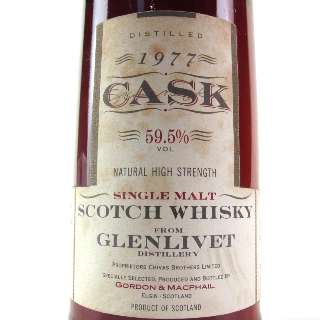 Glenlivet 1977 Gordon and MacPhail Cask Strength
