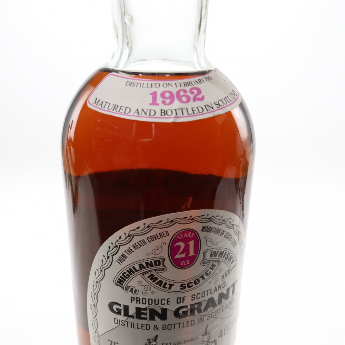 Glen Grant 1962 Gordon and MacPhail