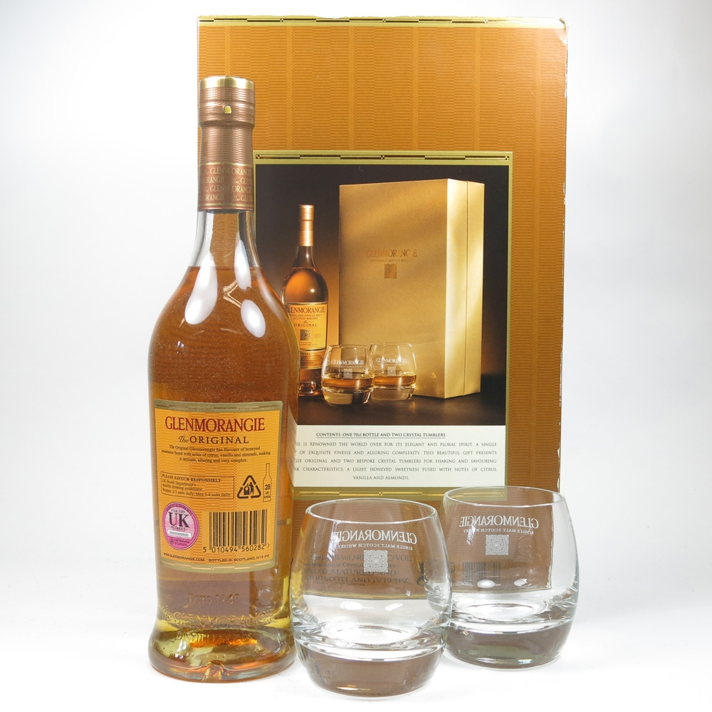 Glenmorangie 10 Year Old Gift Pack Including Tumblers Back