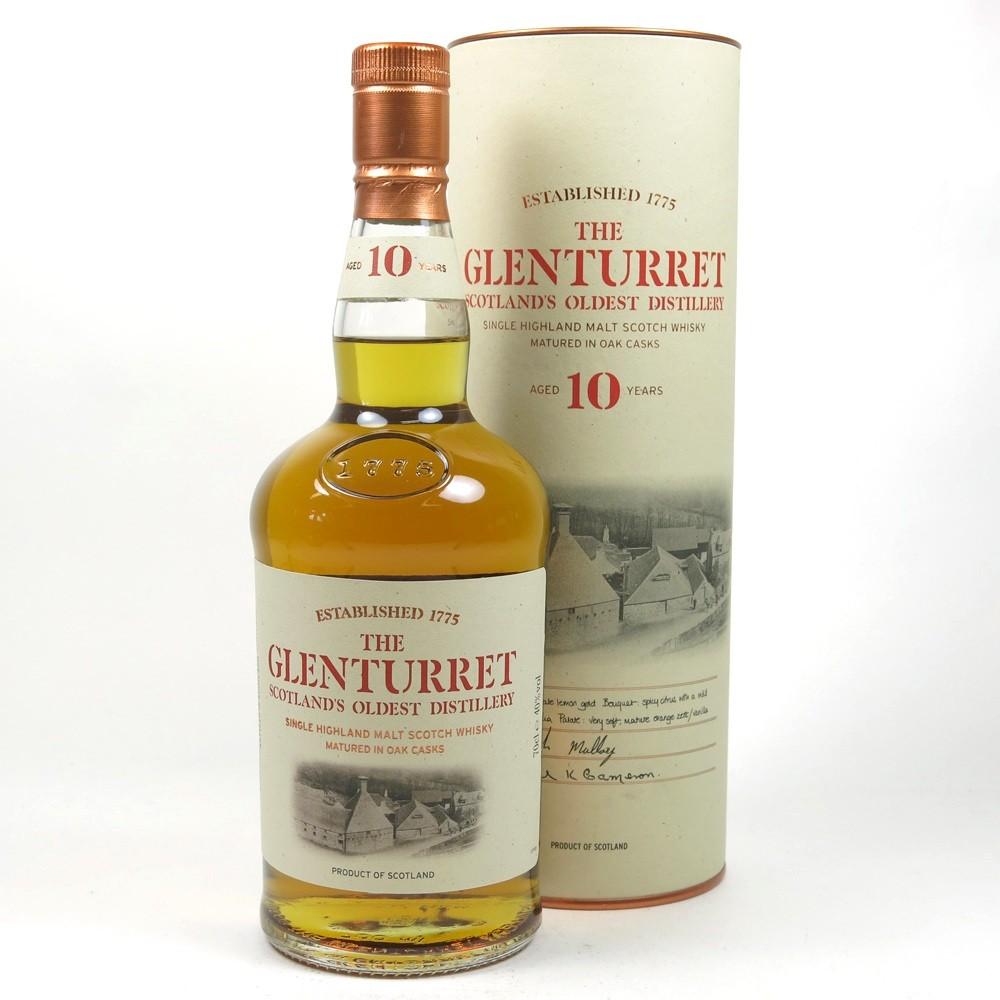 Glenturret 10 Year Old Front