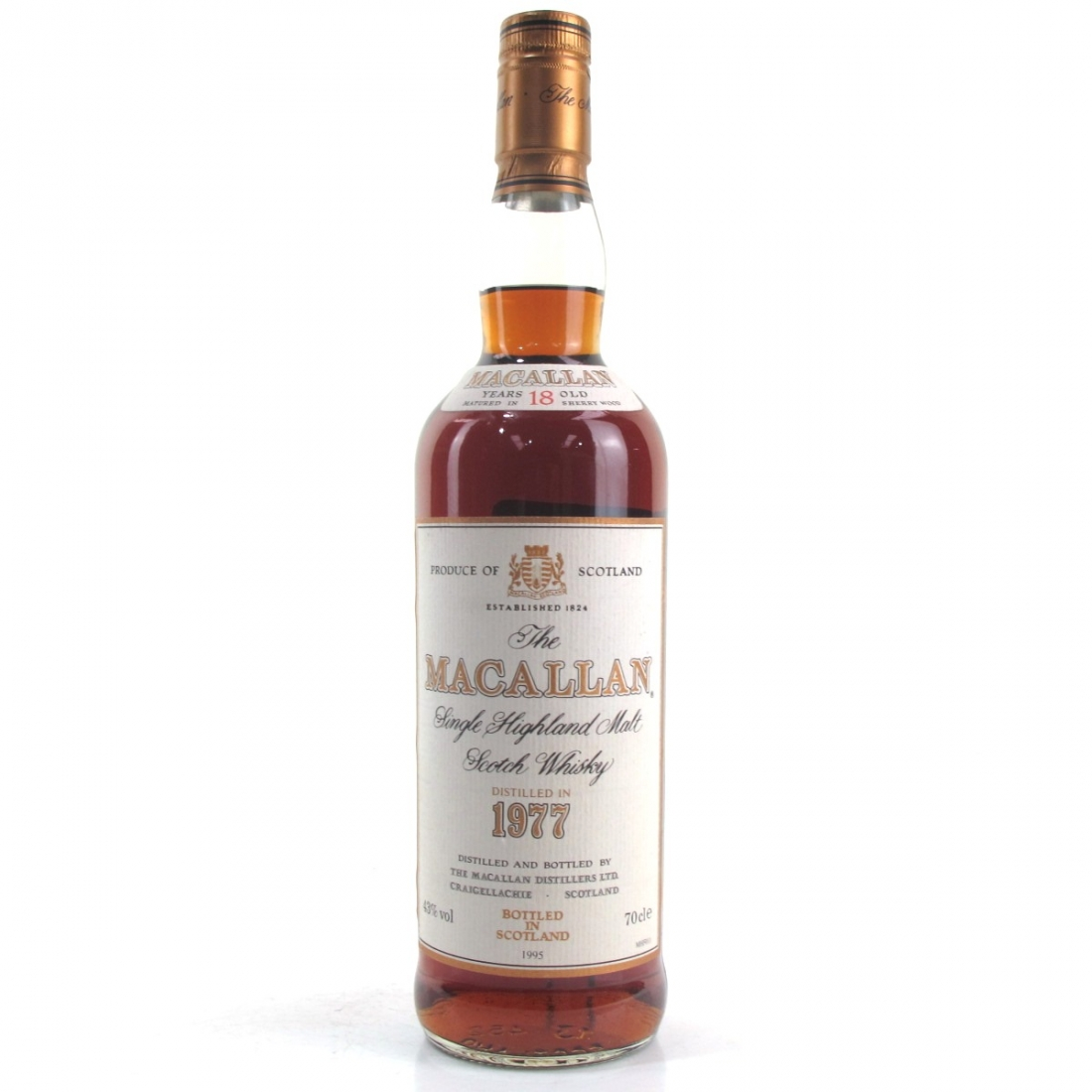 Macallan 18 Year Old 1977