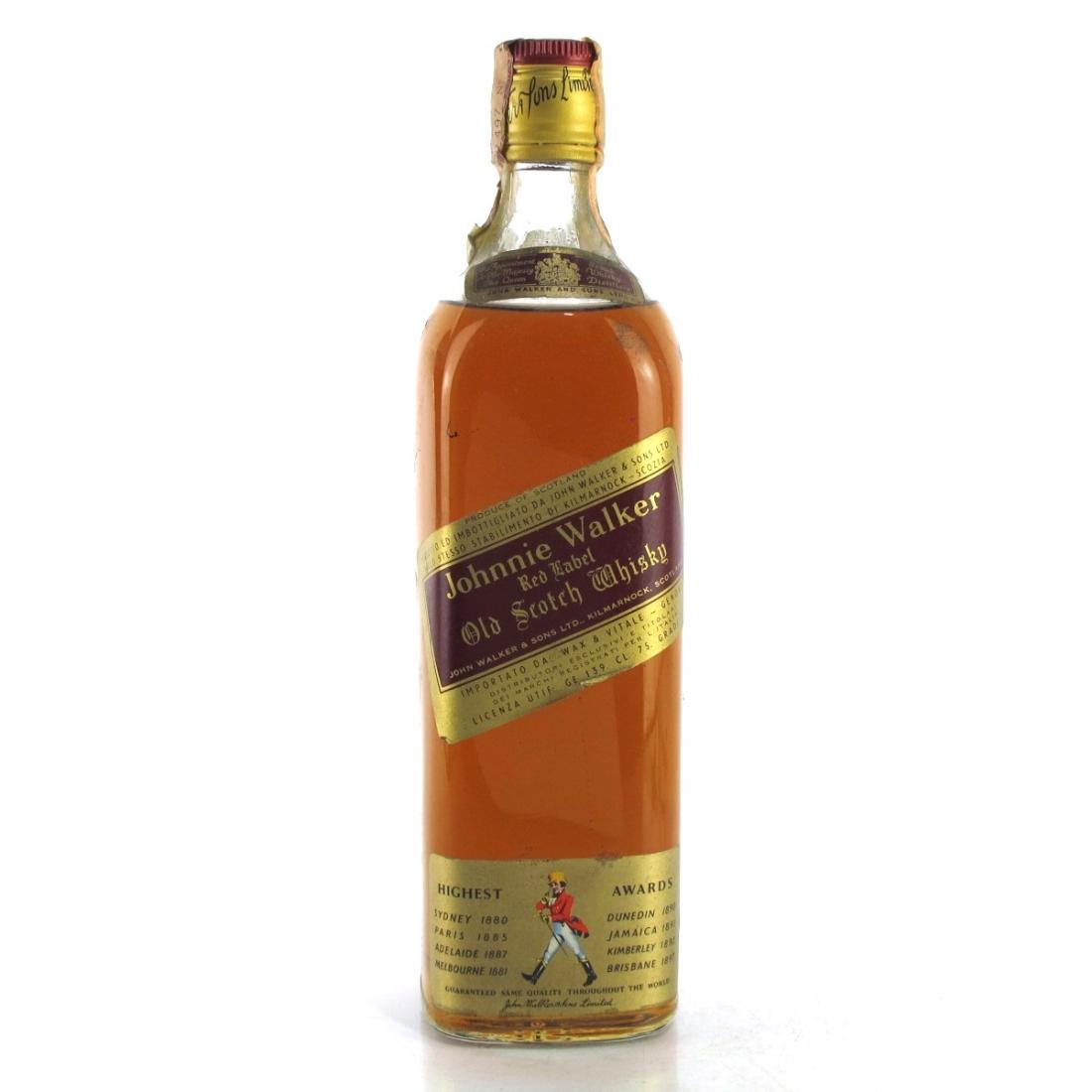 Johnnie Walker Red Label 1970s