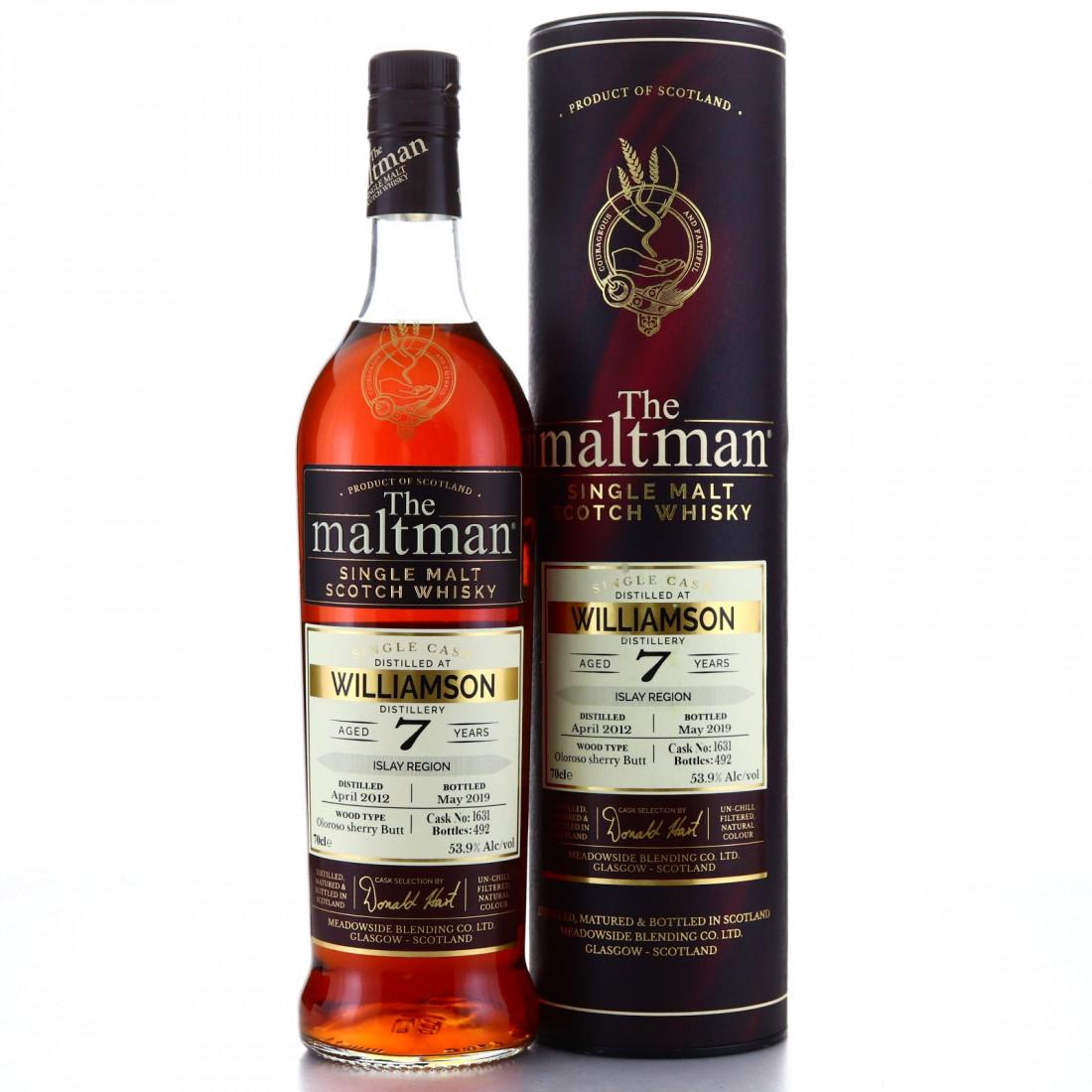 Williamson 2012 Maltman 7 Year Old