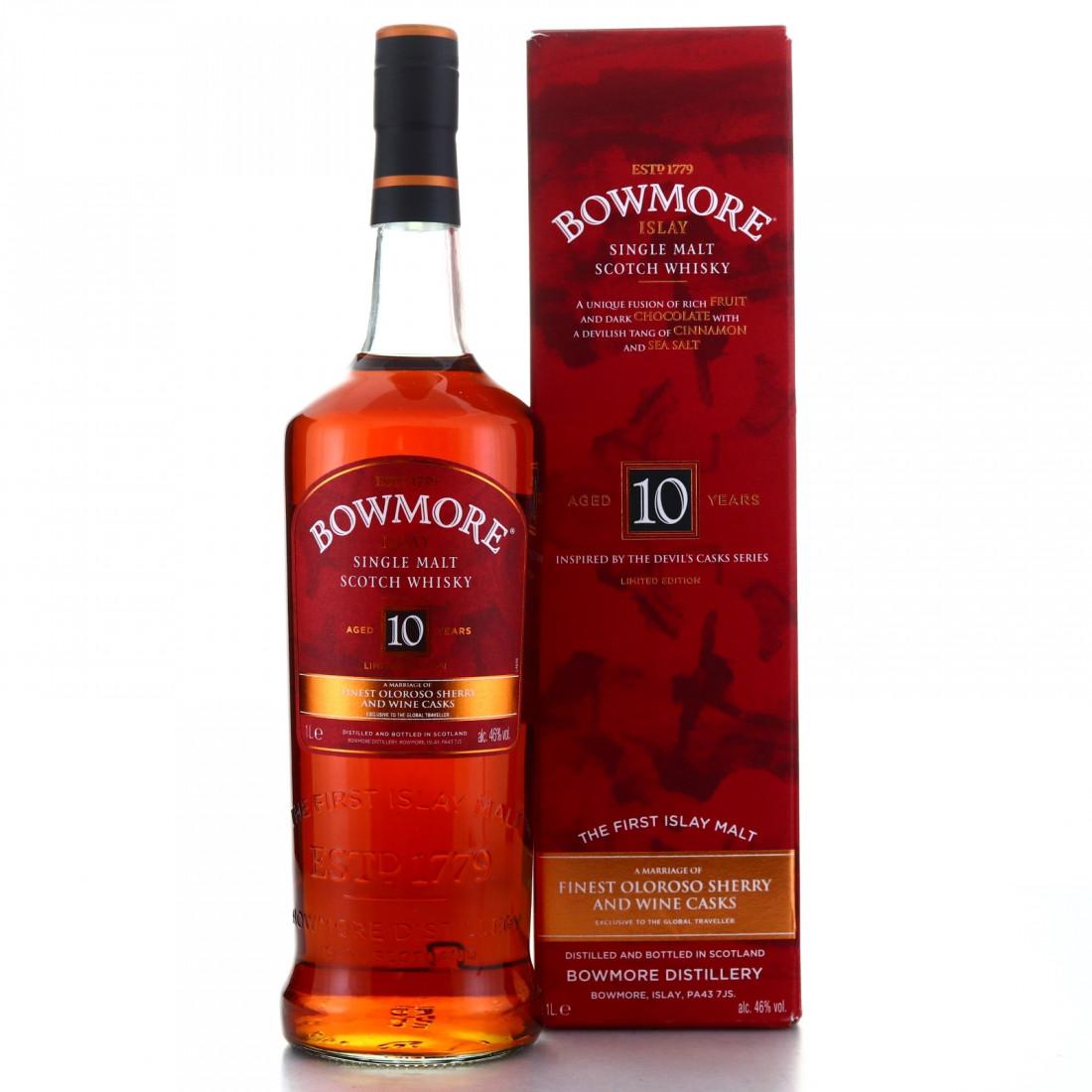 Bowmore 10 Year Old Devil's Casks Inspired 1 Litre