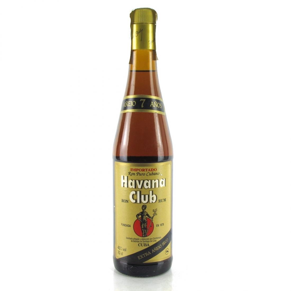 Havana Club 7 Year Old