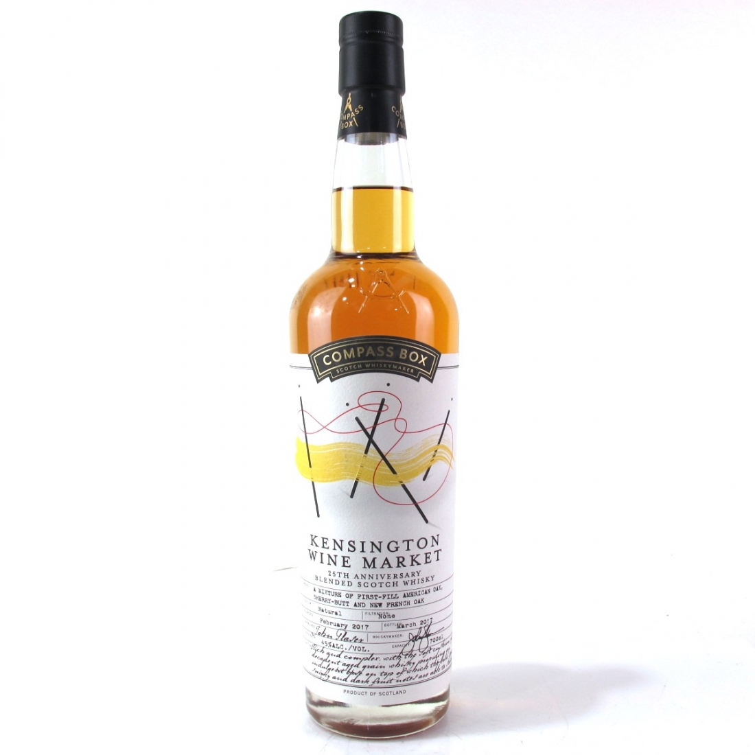 Compass Box Kensington Wine Market 25th Anniversary