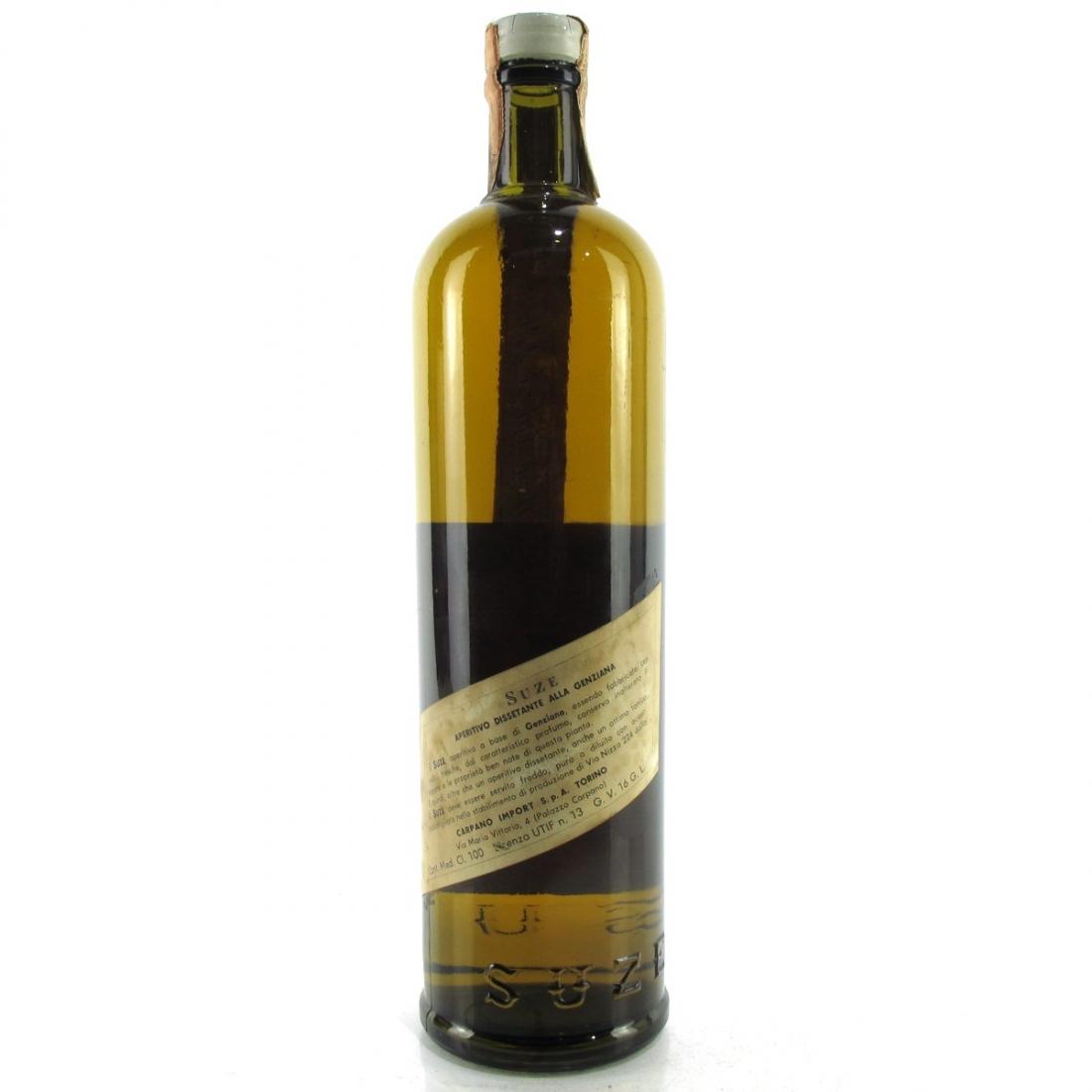 Pernod Suze a la Gentiane 1960s / Rinaldi Import