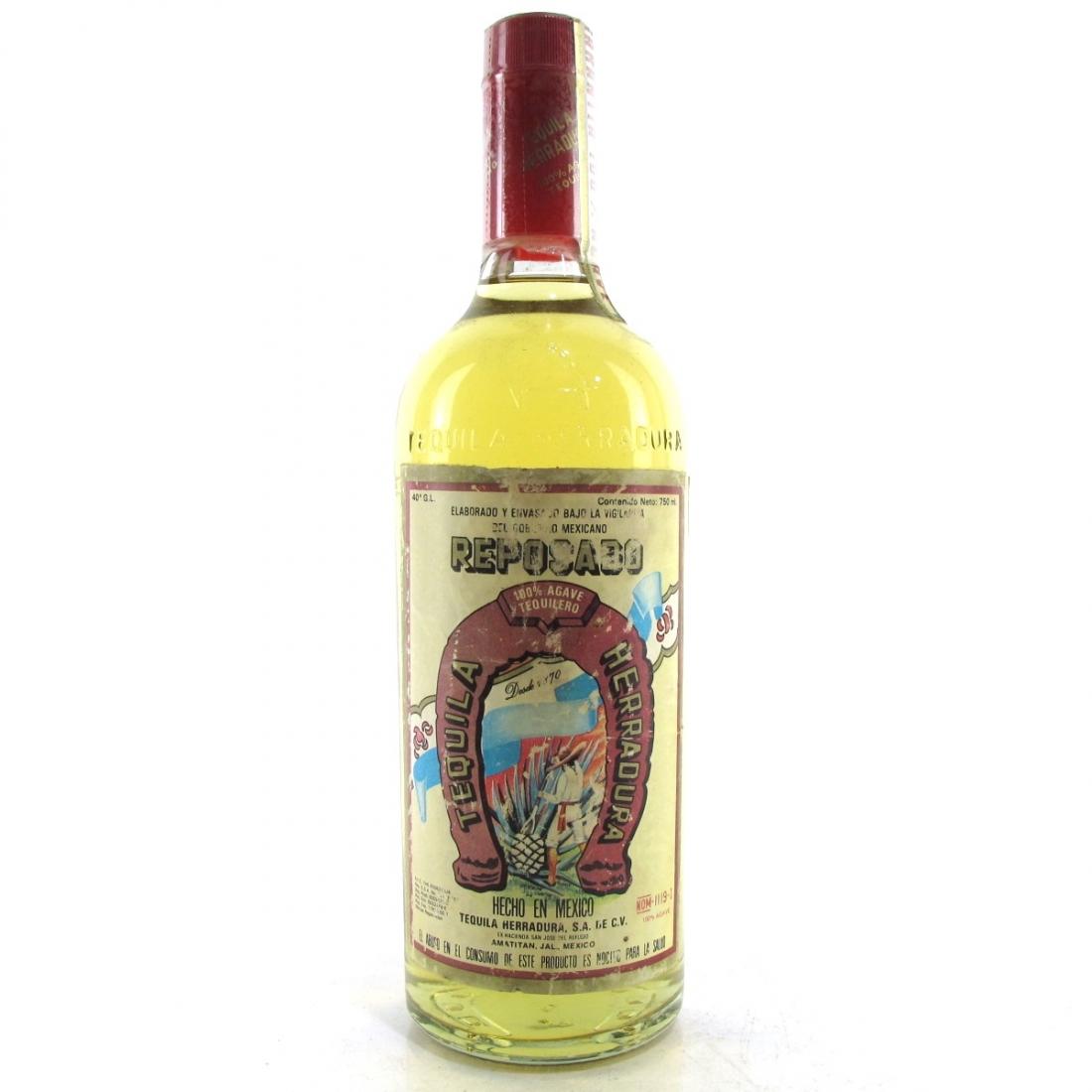 Herradura Reposado Tequila circa 1970s